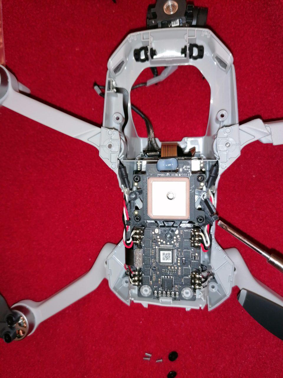 Riparazione frame drone