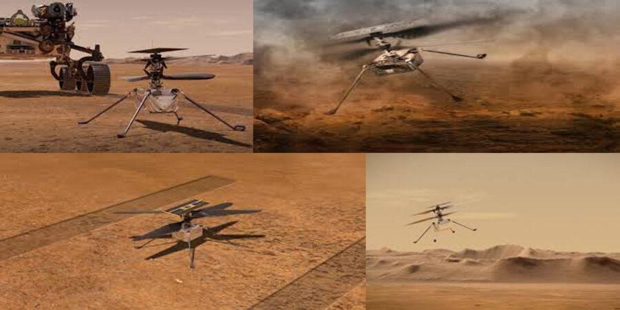 Drone su marte