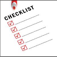 Checklist prima durante e dopo un volo con i droni